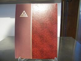 MONDOSORPRESA, (ABLN°14) RACCOGLITORE USATO, CLASSIFICATORE FRANCOBOLLI KK, 12 PAGINE, SFONDO BIANCO - Stockbooks