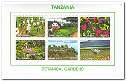 Tanzania 2008, Postfris MNH, Botanical Gardens - Tanzania (1964-...)
