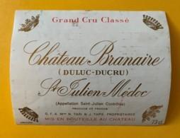 9551 - Château Branaire (DuLuc-Ducru) St-Julien - Bordeaux