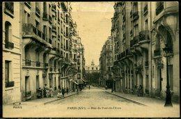 Cpa Paris 20e  Rue Du Pont De L'Eure,   Animée - Arrondissement: 20