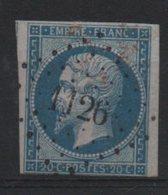PC    1126   Ain - Marcophilie (Timbres Détachés)