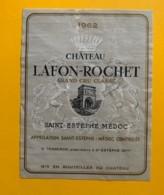 9561 - Château Lafon-Rochet 1962 St-Estèphe - Bordeaux