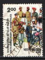 INDIA - 1986 - Uniforms, 1861-1986 - FRANCOBOLLO CON PIEGA - USATO - India