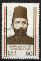 INDIA - 1987 - Hakim Ajmal Khan (1864-1927) Physician, Politician - USATO - India