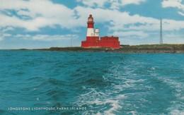 Postcard Longstone Lighthouse Farne Islands My Ref  B13154 - Lighthouses