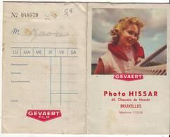 Pochette Photos Hissar  Bruxelles - Photographie