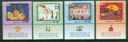ISRAEL 2006 Mi 1855-58** Children's Drawings [A1782] - Enfance & Jeunesse