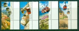 ISRAEL 2002 Mi 1685-88** Cable Cars [A1787] - Transports