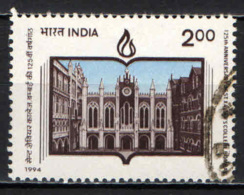 INDIA - 1994 - COLLEGIO DI SAN FRANCESCO SAVERIO A BOMBAY - USATO - Usati