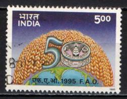 INDIA - 1995 - CINQUANTENARIO DELLA F.A.O. - USATO - Usati