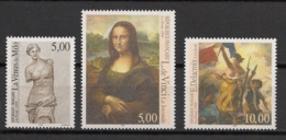France - 1999 - N°Yv. 3234 à 3236 - Joconde / Venus De Milo / Liberté - Neuf Luxe ** / MNH / Postfrisch - Unused Stamps