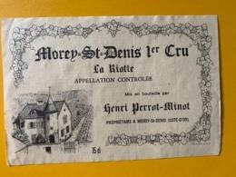 9333 - Morey-St-Denis La Riotte Henri Perrot-Minot - Bourgogne