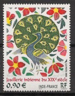 France - 2003 - N°Yv. 3630 - Joaillerie Indienne - Neuf Luxe ** / MNH / Postfrisch - Paons