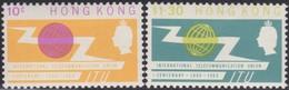 Hong Kong  .   SG      .    214/215     .    *      .      Mint-hinged    .   /    .   Ongebruikt - Hong Kong (...-1997)