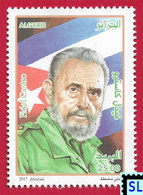 Algeria Stamps 2017, Fidel Castro, MNH - Algeria (1962-...)