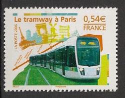 France - 2006 - N°Yv. 3985 - Tramway / Tram - Neuf Luxe ** / MNH / Postfrisch - Strassenbahnen