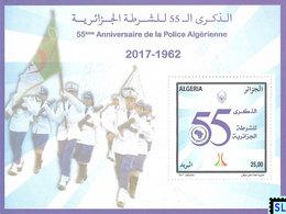 Algeria Stamps 2017, Algerian Police Force, MS - Algeria (1962-...)