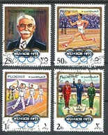 MUNICH 1972, OLYMPIC GAMES. FUJEIRA 1970 MICHEL 533 / 536 COMPLETE SERIE OBLITERES - LILHU - Fujeira