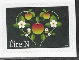IRELAND, 2019, MNH, LOVE AND MARRIAGE, FRUIT, FLOWERS, 1v - Celebrations