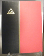 MONDOSORPRESA, (ABLN°22) RACCOGLITORE USATO, CLASSIFICATORE FRANCOBOLLI KK, 12 PAGINE, SFONDO NERO - Stockbooks