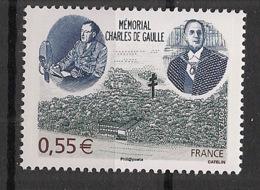 France - 2008 - N°Yv. 4243 - De Gaulle / Mémorial - Neuf Luxe ** / MNH / Postfrisch - De Gaulle (General)
