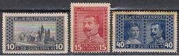 BOSNIE 25 // YVERT 117, 118, 119  SERIE COMPLETE // 1917   NEUF - Bosnia Herzegovina