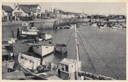 Postcard Exmouth Dock And Ferry Devon PU 1962 My Ref  B13156 - Ships