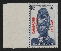 CAMEROUN 1940 YT 210** - Neufs
