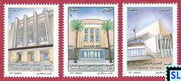 Algeria Stamps 2017, Theatres, MNH - Algeria (1962-...)