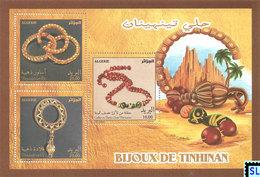 Algeria Stamps 2017, Archaeology, Tinhinan Jewelry, MS - Algeria (1962-...)