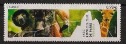 France - 2014 - N°Yv. 4868 - Zoo De Vincennes - Neuf Luxe ** / MNH / Postfrisch - Giraffes