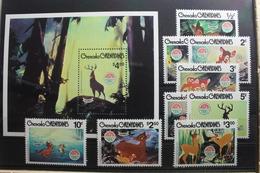 Grenada/Grenadinen 991-1050 ** Postfrisch Walt Disney #SH612 - Grenada (1974-...)