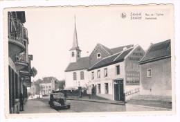 Stockel - Stokkel, Rue De L'Eglise/Kerkstraat, Café Au Boin Coin Chez Arthur, Edit. A. Durr Et Fils, Bruxelles - 2 Scans - St-Pieters-Woluwe - Woluwe-St-Pierre
