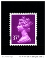 GREAT BRITAIN - 1996  MACHIN  37p. 2B  MINT NH  SG Y1703 - 1952-.... (Elisabetta II)