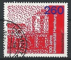 ALEMANIA 2019 - Mi 3449 100 Jahre Universität Hamburg - [7] République Fédérale
