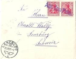 """Feldpost Brief  """"Inf.Reg.109"""" - Zofingen  (Aus Dem Felde)            1917 - Briefe U. Dokumente"""