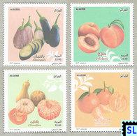 Algeria Stamps 2017, Fruits, Vegetables, MNH - Algeria (1962-...)