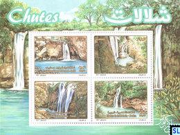 Algeria Stamps 2017, Tourism, Waterfalls, MS - Algeria (1962-...)