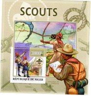Niger  - 2013 -   Scouts & Scouting   -  1v MS  Neuf/Mint MNH - Ongebruikt