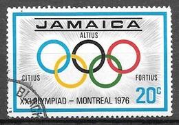 1976 20c Montreal Olympics, Used - Jamaica (1962-...)