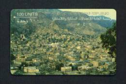 YEMEN - GPT Magnetic Phonecard As Scan (worn And Tired Looking But Rare!) - Yemen
