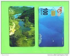 MONTENEGRO - Chip Phonecard/Coast And Mountain Views - Montenegro