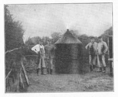 Forêt Forestier  Meule MAGNEIN  1934 - Vieux Papiers