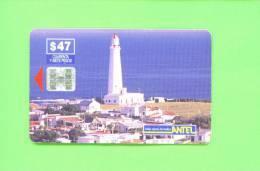 URUGUAY  -  Chip Phonecard As Scan - Uruguay