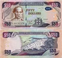 JAMAICA       50 Dollars       P-94[c]       1.6.2017       UNC - Jamaica