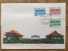 Taiwan 1987, FDC: Chiang Kai-Shek Memorial Hall - 1945-... République De Chine