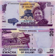 MALAWI       20 Kwacha       P-63b       1.1.2015       UNC  [ Sign. Chuka ] - Malawi