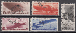 1934 Yvert Nº 33 / 37 - 1923-1991 UdSSR