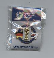 Pin's Football Soccer Coupe Du Monde FIFA World Cup 2006 Germany Hyundai - Football