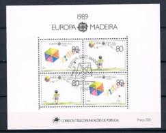 Portugal, 1989, # Bl. 104, Used - 1910-... République